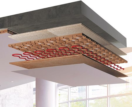 Argilla Therm - clay ceiling heating / cooling systems